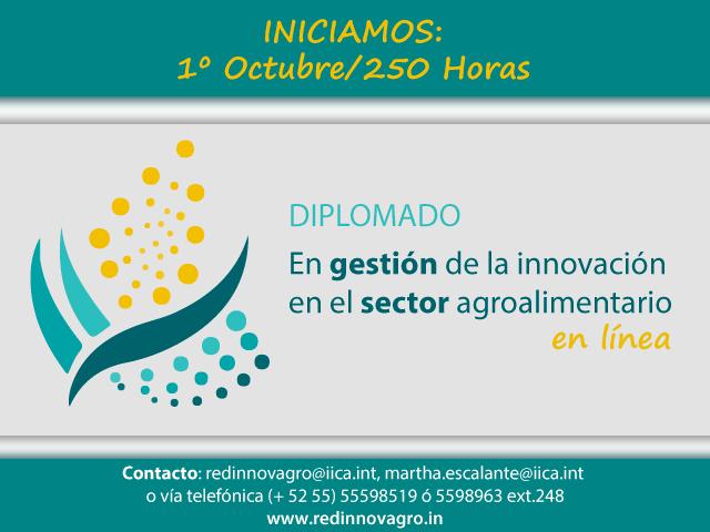 Diplomado en Gesti?n de la Innovaci?n en el Sector Agroalimentario