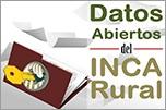 Datos abiertos del INCA Rural