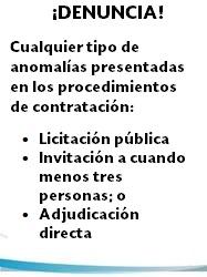 Presentacion de quejas y denuncias en la SFP
