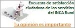 encuesta de los servicios del INCA Rural